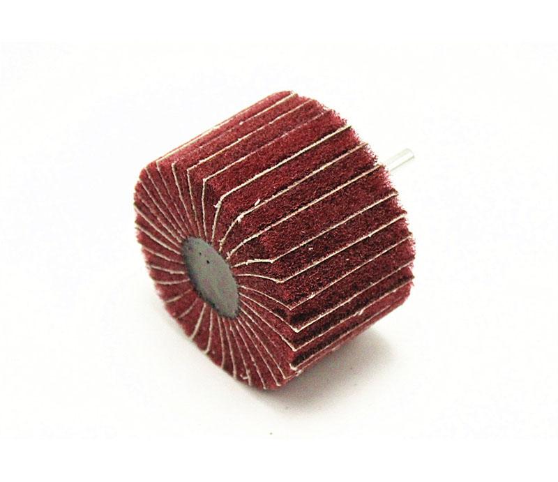 砂布夹百洁布带柄叶轮