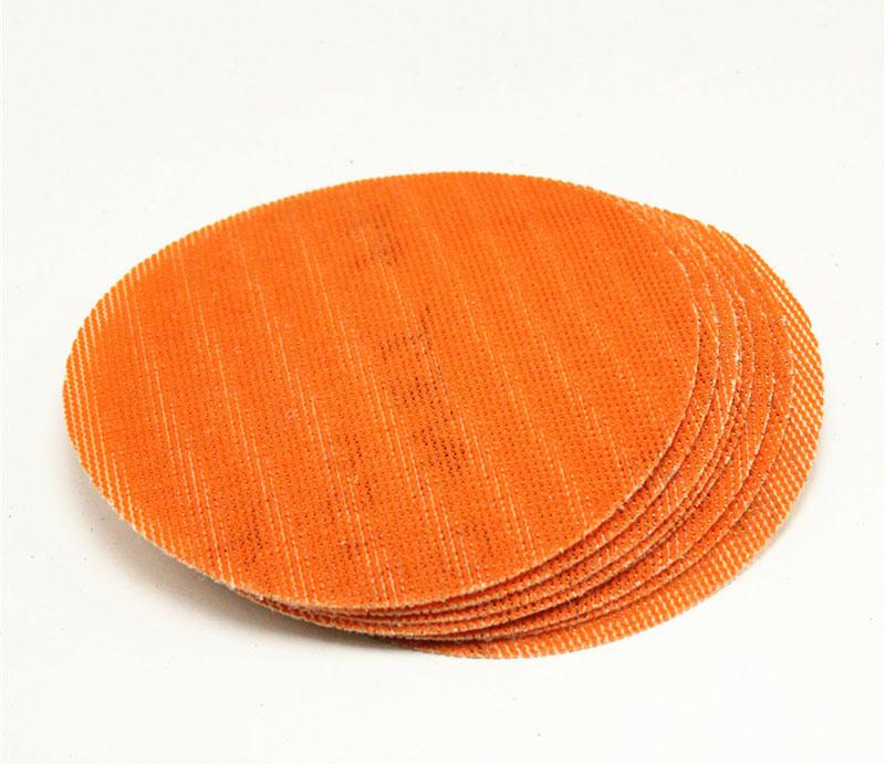 橙色儿童砂纸画