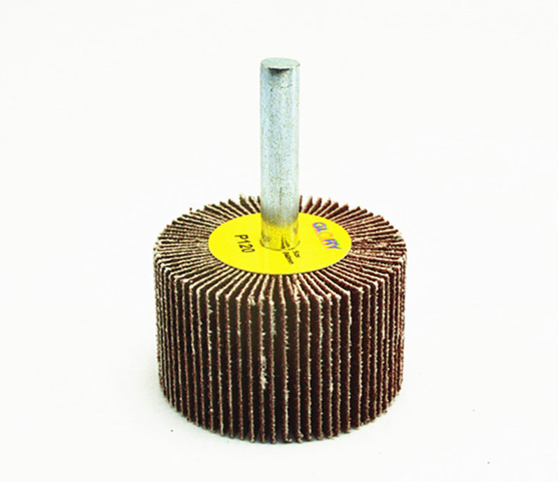 砂布带柄叶轮